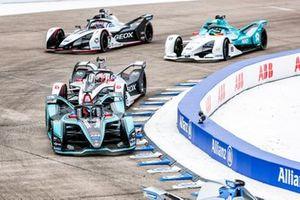 Mitch Evans, Panasonic Jaguar Racing, Jaguar I-Type 3, Maximillian Gunther, GEOX Dragon Racing, Penske EV-3, Tom Dillmann, NIO Formula E Team, NIO Sport 004, Jose Maria Lopez, Dragon Racing, Penske EV-3