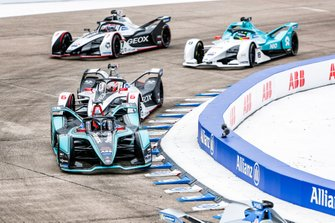 Mitch Evans, Panasonic Jaguar Racing, Jaguar I-Type 3, Maximillian Gunther, GEOX Dragon Racing, Penske EV-3, Tom Dillmann, NIO Formula E Team, NIO Sport 004, Jose Maria Lopez, Dragon Racing, Penske EV-3
