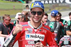 Third place Danilo Petrucci, Ducati Team