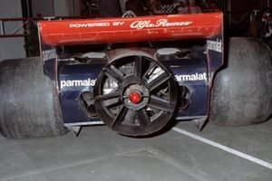 The controversial fan on a Brabham BT46B Alfa Romeo
