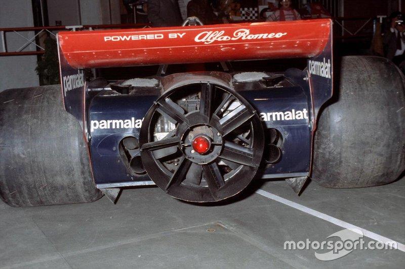 La tanto discussa ventola su una Brabham BT46B Alfa Romeo