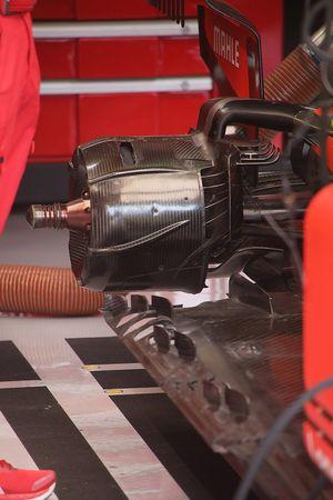 Suspensión trasera del Ferrari SF90
