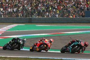 Fabio Quartararo, Petronas Yamaha SRT, Marc Marquez, Repsol Honda Team, Maverick Vinales, Yamaha Factory Racing