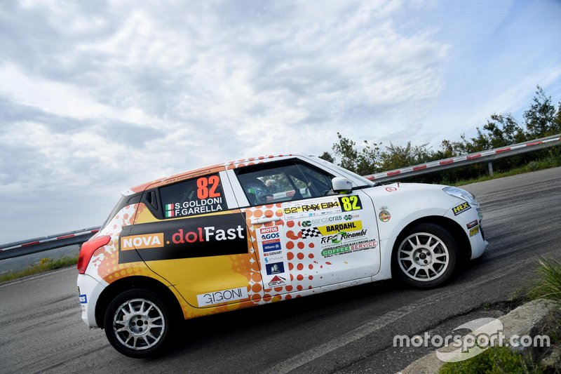 Simone Goldoni, Flavio Garella, Suzuki SWIFT 1.0 Boosterjet, Nordovest Racing