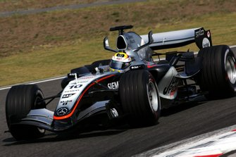 Juan Pablo Montoya, (COL) McLaren MP4/20