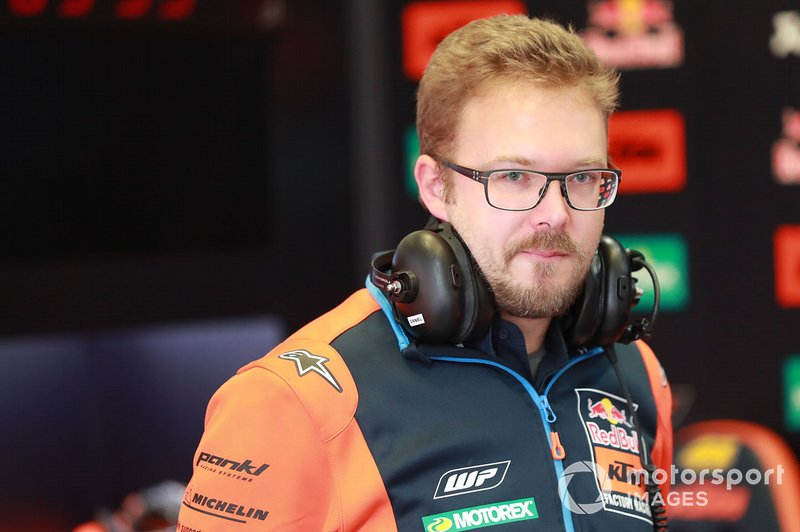 Seb Risse, Technical Director Red Bull KTM Factory Racing