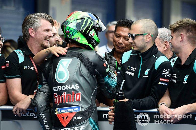 Il secondo qualificato Franco Morbidelli, Petronas Yamaha SRT