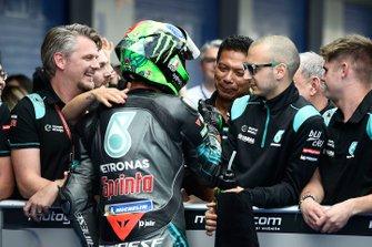 Обладатель второго места в квалификации Франко Морбиделли, Petronas Yamaha SRT