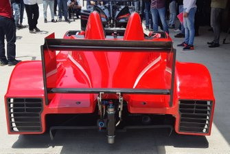 Coche de la X1 Racing League, vista trasera