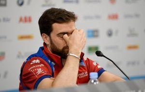 Jérôme d'Ambrosio, Mahindra Racing lors d'une conférence de presse
