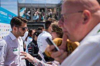 Daniel Abt, Audi Sport ABT Schaeffler, parle à la presse