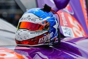 Helmet of Ben Keating