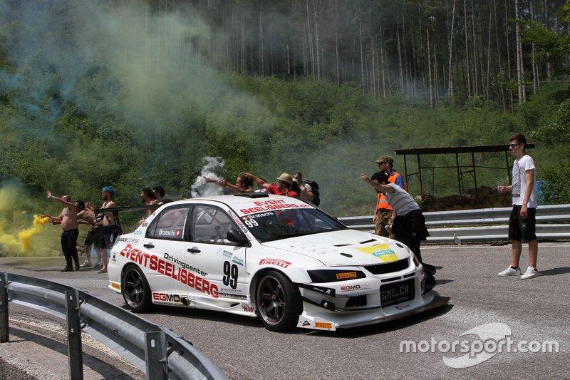 Ronnie Bratschi, Mitsubishi Evo 8 EGMO, Eventseelisberg