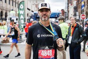 Jimmie Johnson, Boston Marathon