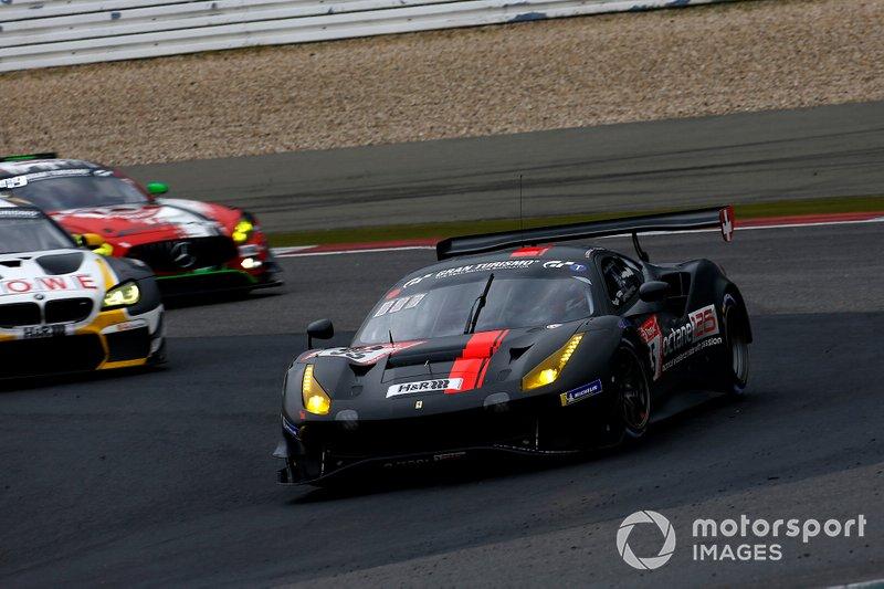 #55 Octane 126 Ferrari 488: Björn Grossmann, Simon Trummer, Jonathan Hirschi