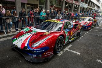 #51 AF Corse Ferrari 488 GTE EVO; #71 AF Corse Ferrari 488 GTE EVO