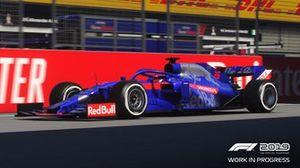 Toro Rosso en el 'F1 2019'