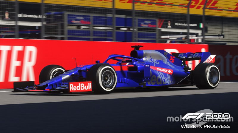 Toro Rosso F1 2019 Codemasters