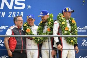 LMGTE Pro third place #93 Porsche GT Team Porsche 911 RSR: Patrick Pilet, Nick Tandy, Earl Bamber