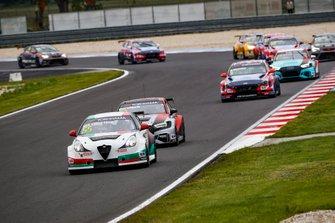 Ma Qing Hua, Team Mulsanne Alfa Romeo Giulietta TCR, Frédéric Vervisch, Comtoyou Team Audi Sport Audi RS 3 LMS