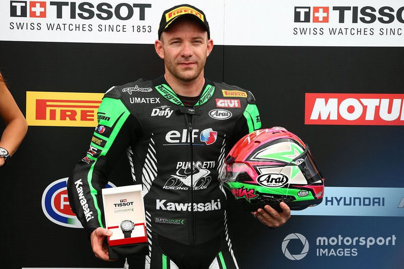 Lucas Mahias, Kawasaki Puccetti Racing takes pole position, WorldSSP