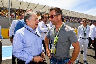 Jean Todt, Presidente de la FIA y Sébastien Loeb