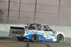 Ganador de la carrera Ross Chastain, Niece Motorsports, Chevrolet Silverado TruNorth/Paul Jr. Designs