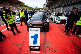 Race winner Julien Briché, JSB Compétition Peugeot 308 TCR