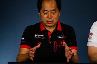Toyoharu Tanabe, F1 Technical Director, Honda, in the team principals Press Conference