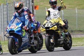 Alex Rins, Team Suzuki MotoGP, Francesco Bagnaia, Pramac Racing