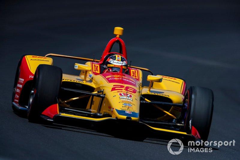 #28 Ryan Hunter-Reay, DHL, Andretti Autosport Honda
