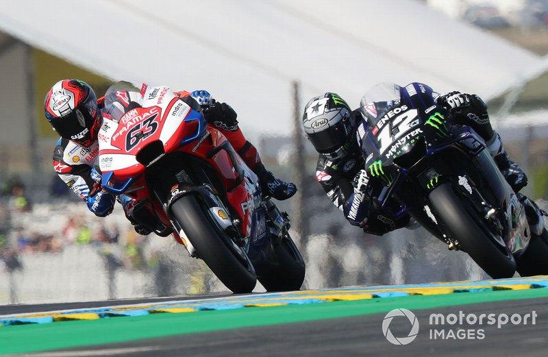 Francesco Bagnaia, Pramac Racing, Maverick Vinales, Yamaha Factory Racing