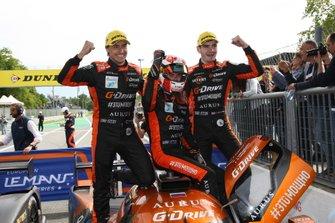 Il vincitore #26 G-Drive Racing Aurus 01 Gibson: Roman Rusinov, Job Van Uitert, Norman Nato