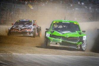 Crash: Francois Duval, ES Motorsport