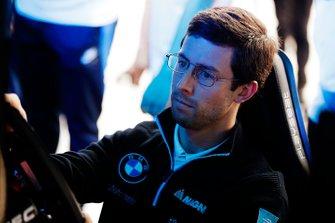 Alexander Sims, BMW I Andretti Motorsports, prende parte alla E-Race