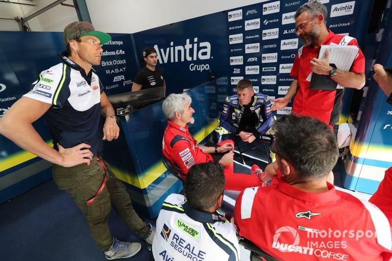 Rubens Xaus, Luigi Dal'Igna, Ducati, Tito Rabat, Avintia Racing
