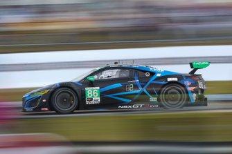 #86 Meyer Shank Racing w/ Curb-Agajanian Acura NSX GT3, GTD: Mario Farnbacher, Trent Hindman, Justin Marks