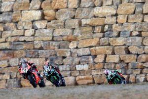 Chaz Davies, Aruba.it Racing-Ducati Team, Jonathan Rea, Kawasaki Racing, Leon Haslam, Kawasaki Racing