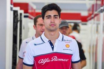 Juan Manuel Correa, Alfa Romeo Racing, Collaudatore