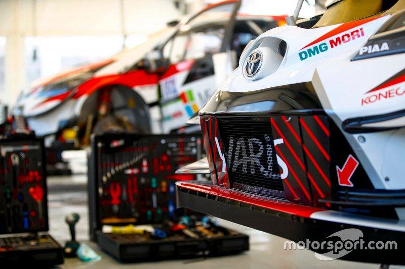 Toyota Gazoo Racing WRC takım alanı