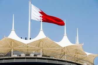 Bahrain Tower with flag