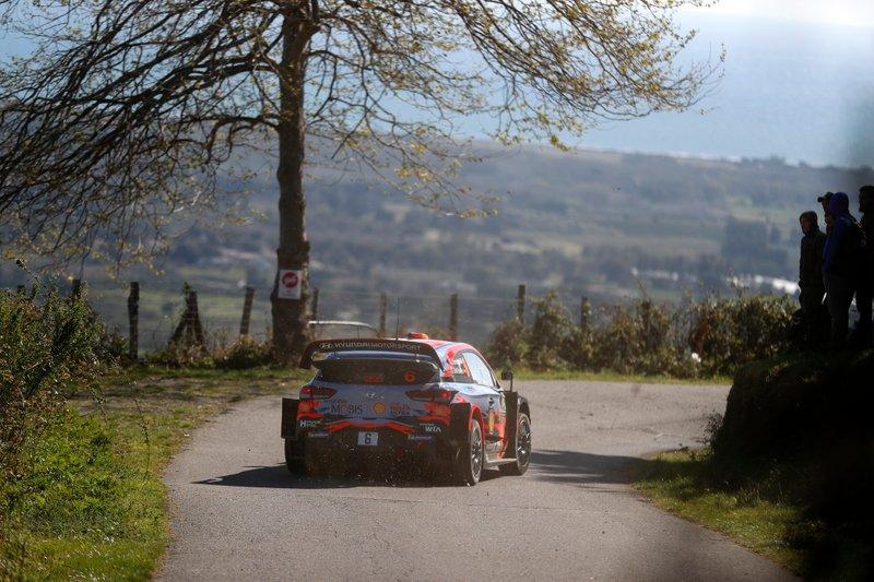 Dani Sordo, Marko del Barrio, Hyundai Motorsport Hyundai i20 Coupe WRC