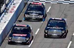 Tyler Ankrum, DGR-Crosley, Toyota Tundra May's Hawaii and Harrison Burton, Kyle Busch Motorsports, Toyota Tundra Safelite AutoGlass