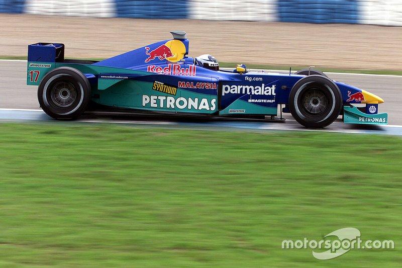 Kimi Raikkonen: 2000 – Sauber