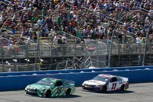 Kyle Busch, Joe Gibbs Racing, Toyota Camry Interstate Batteries Denny Hamlin, Joe Gibbs Racing, Toyota Camry FedEx Express