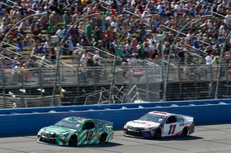 Kyle Busch, Joe Gibbs Racing, Toyota Camry Interstate Batteries, Denny Hamlin, Joe Gibbs Racing, Toyota Camry FedEx Express
