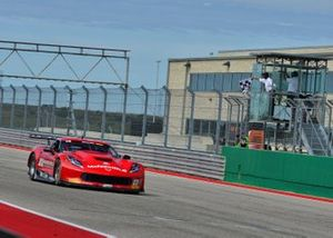#23 TA Chevrolet Corvette driven by Amy Ruman of Ruman Racing