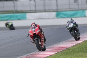 Danilo Petrucci, Ducati Team, Maverick Vinales, Yamaha Factory Racing
