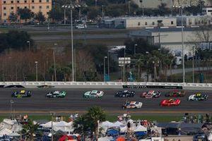 Ross Chastain, Kaulig Racing, Chevrolet Camaro Nutrien Ag Solutions and Brandon Jones, Joe Gibbs Racing, Toyota Supra Juniper