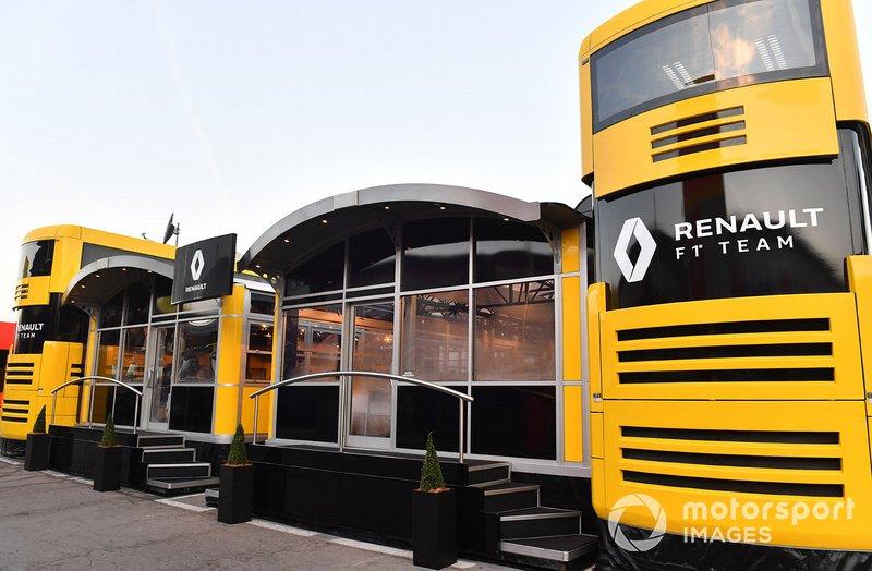 Motorhome de Renault Sport F1 Team